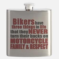 Three Things - Bikers Flask