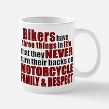 Three Things - Bikers Mug