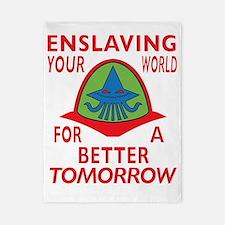 Emperor-Mollusk-Logo-BT Twin Duvet