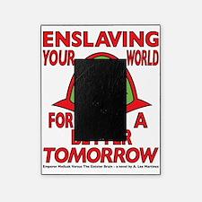 Emperor-Mollusk-Logo-WT Picture Frame