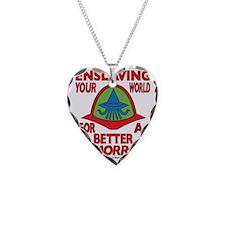 Emperor-Mollusk-Logo-WT Necklace