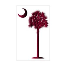 USC Palmetto transparent Decal