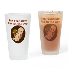 49ers_maternity Drinking Glass