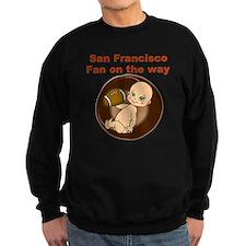 49ers_maternity Sweatshirt