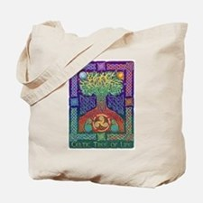 Celtic Tree Of Life Tote Bag