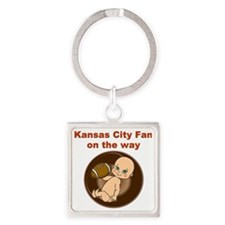 chiefs_maternity Square Keychain