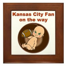chiefs_maternity Framed Tile
