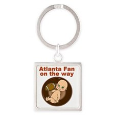 falcons_maternity Square Keychain