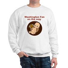 redskins_maternity Sweatshirt