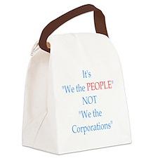 notcorp shirt Canvas Lunch Bag