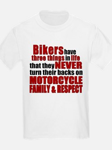 Three Things - Bikers T-Shirt