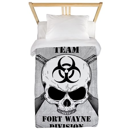 Zombie Response Team Fort Wayne Twin Duvet