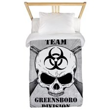Zombie Response Team Greensboro Twin Duvet