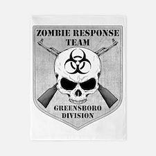 Zombie Response Team Greensboro Twin Duvet