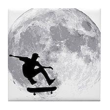 moon Tile Coaster