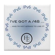 IPv6 /48 Tile Coaster