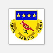 """138 Field Artillery Regimen Square Sticker 3"""" x 3"""""""