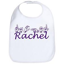Rachel in ASL Bib