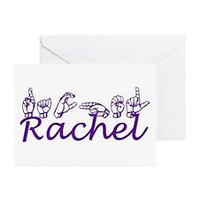Rachel in ASL Greeting Cards (Pk of 10)