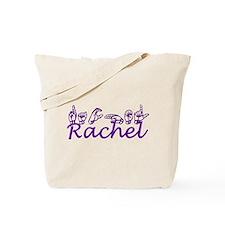 Rachel in ASL Tote Bag