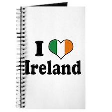 I Love Ireland Tricolor Journal