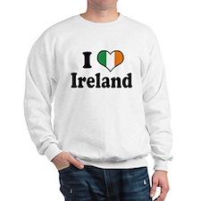 I Love Ireland Tricolor Sweater