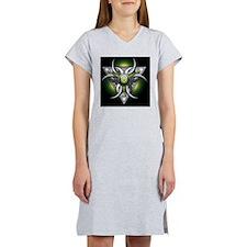 Triple Goddess - green - Banner Women's Nightshirt