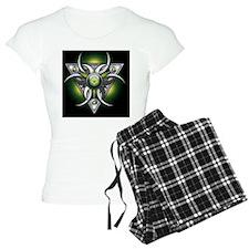 Triple Goddess - green - Gr Pajamas