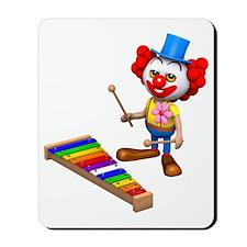 3d-clown-xylophone Mousepad