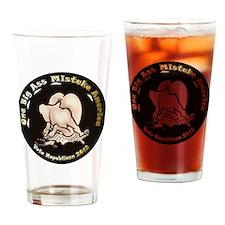 OneBigAss03 12x12 Drinking Glass