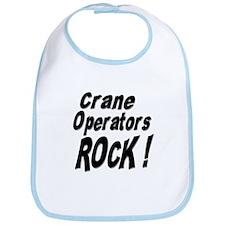 Crane Operators Rock ! Bib