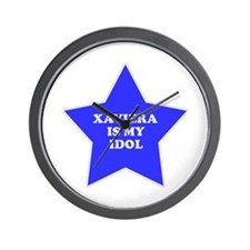 Xaviera Is My Idol Wall Clock
