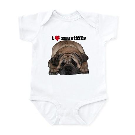 i love mastiffs Body Suit