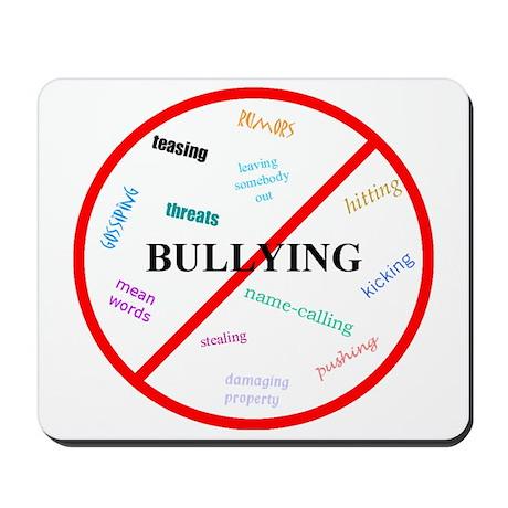 No bullying Mousepad