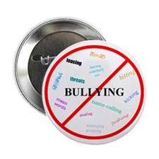 "No bullying 2.25"" Button"