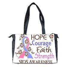 D Hope Courage Faith Strength 3 SIDS Diaper Bag