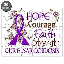 D Hope Courage Faith Strength 3 Sarcoidosis Puzzle