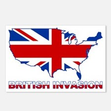 UK INVASION (US ma Postcards (Package of 8)