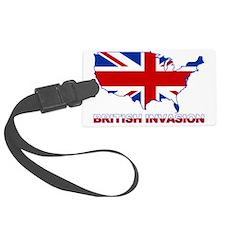 UK INVASION (US ma Luggage Tag