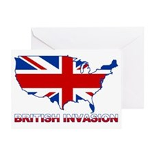 UK INVASION (US ma Greeting Card