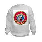 USS LA JOLLA Kids Sweatshirt