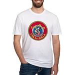 USS LA JOLLA Fitted T-Shirt