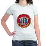 USS LA JOLLA Jr. Ringer T-Shirt