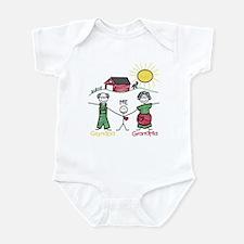 Grandma, Grandpa and Me  Infant Bodysuit