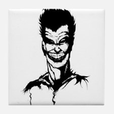 Evil Grin Tile Coaster