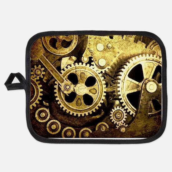 laptop gears Potholder