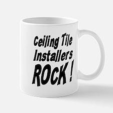 Ceiling Tile Rocks ! Mug