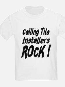 Ceiling Tile Rocks ! Kids T-Shirt
