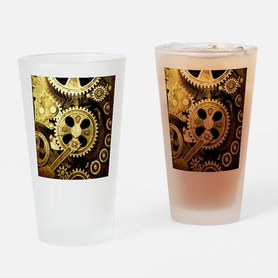 IPAD STEAMPUNK Drinking Glass