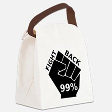 OccupyFight4000 Canvas Lunch Bag